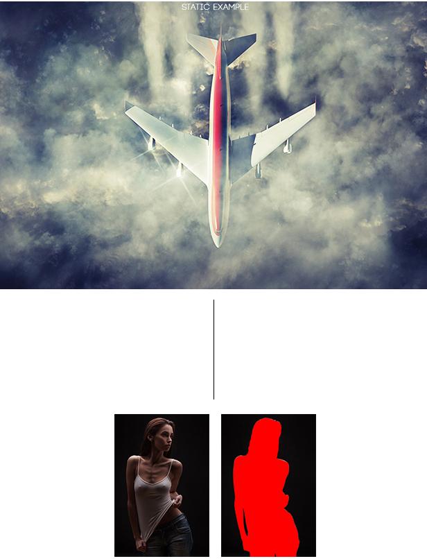 Animated Smoke Photoshop Action