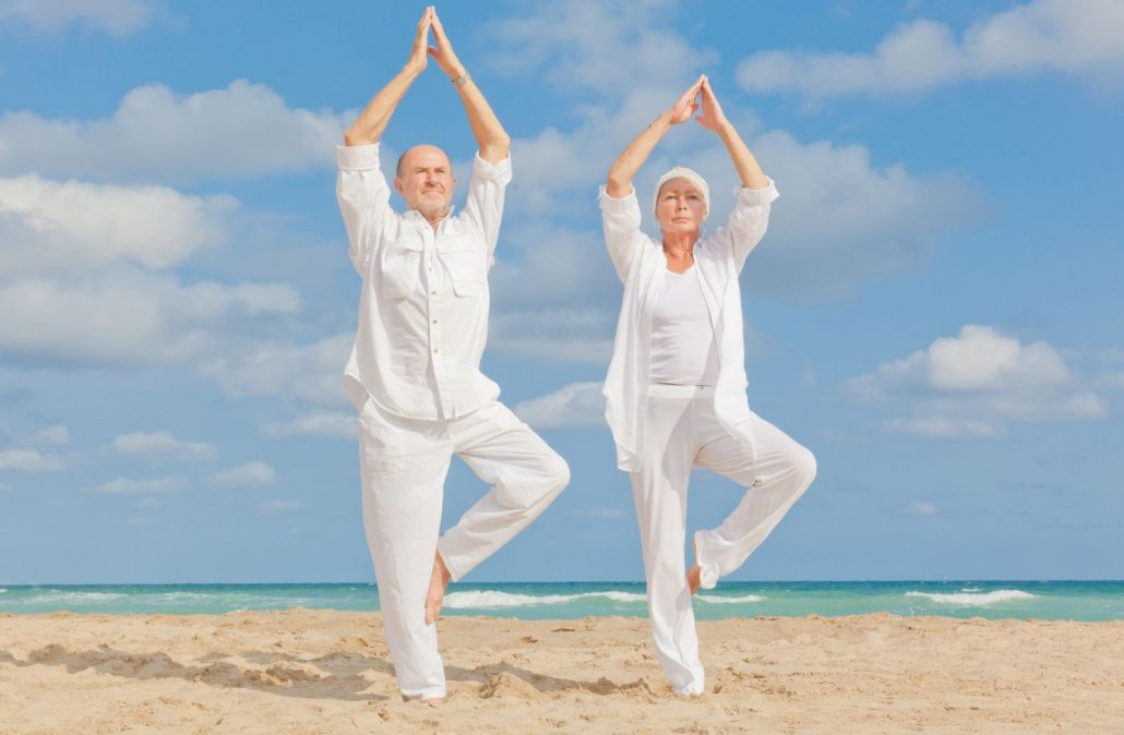 Excellent Balance Yoga Pose For Seniors