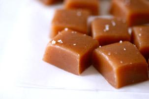 Vanilla Bean Caramels