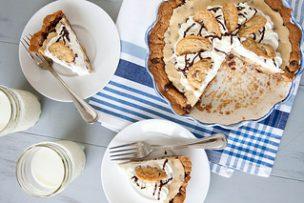 Chocolate Chip Cookie Dough Pie