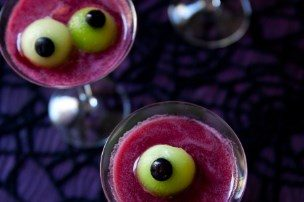Spooky Eyeballtini {Mocktail}