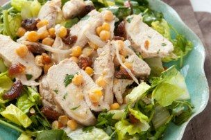 Moroccan Chicken Salad with Chickpeas and Apricots
