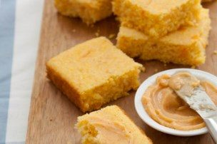 Buttermilk Cornbread with Chipotle Honey Butter