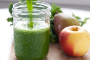 Kale Pear Apple Juice