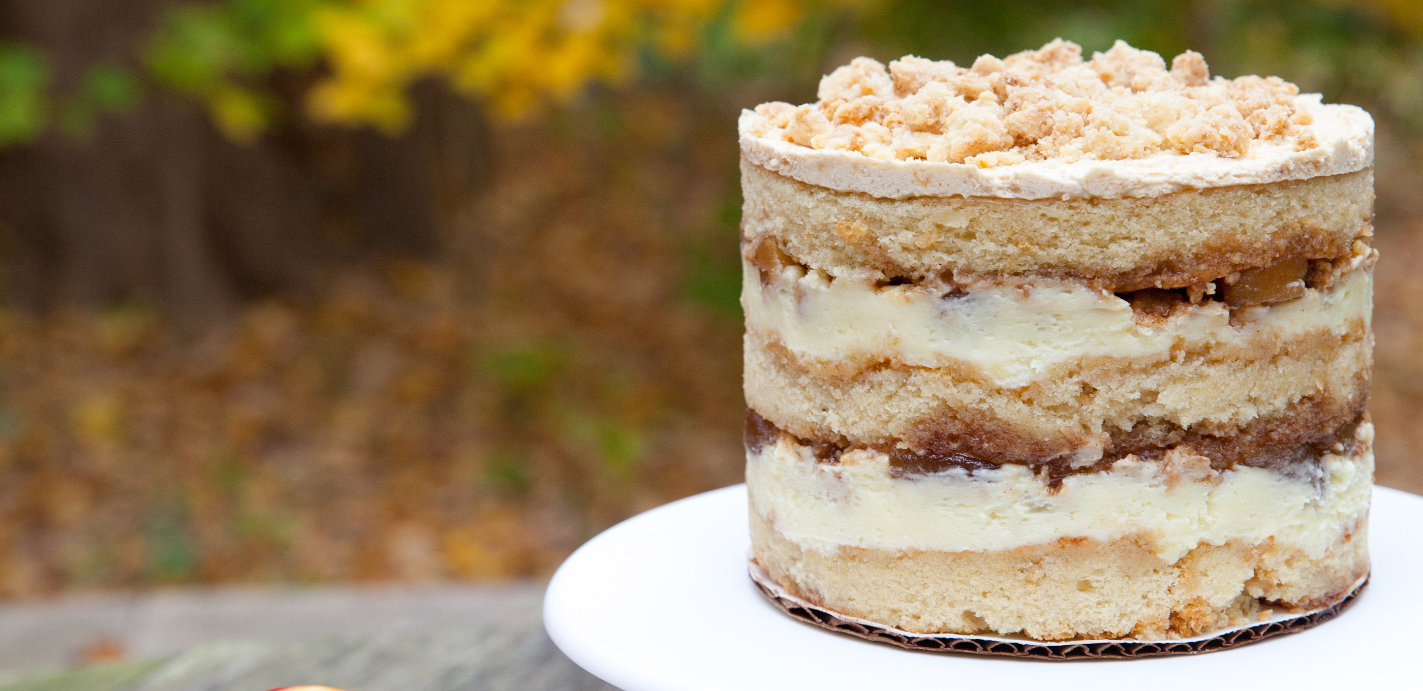 Apple pie layer cake. Yep, you need it.