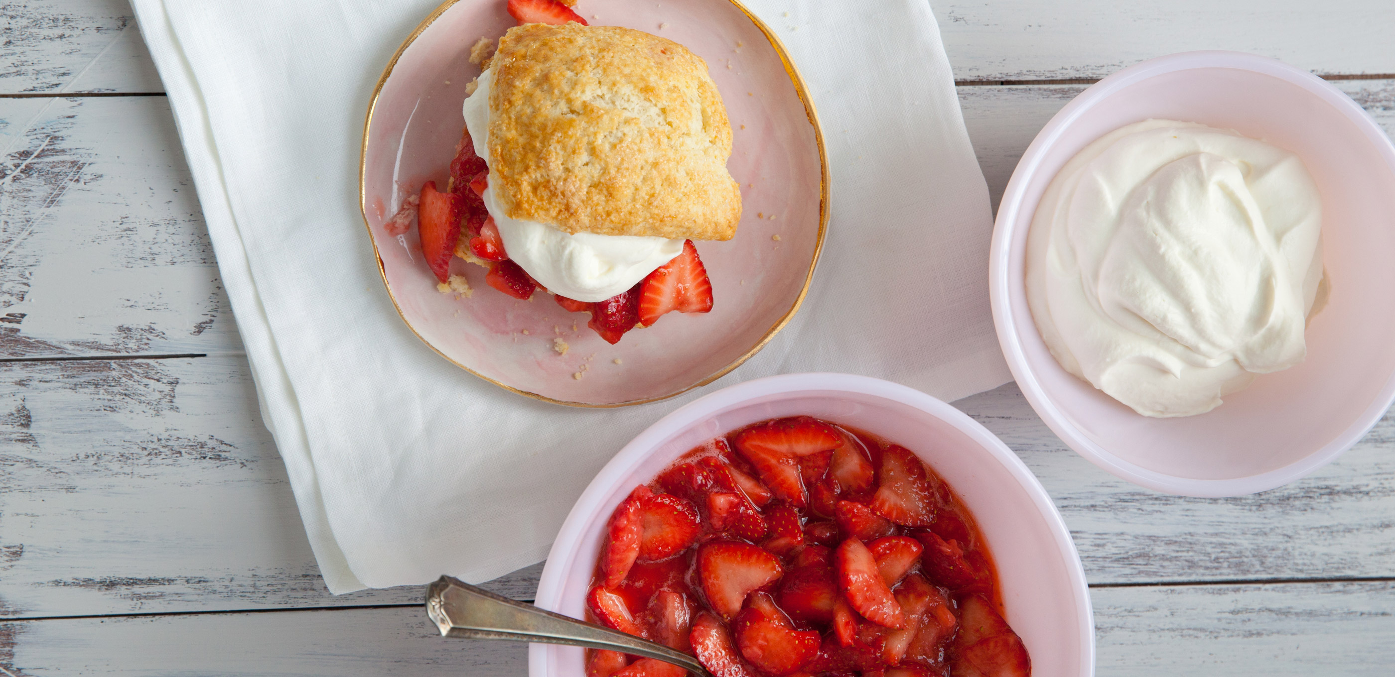 What's better than classic strawberry shortcake? Nothing, that's what.