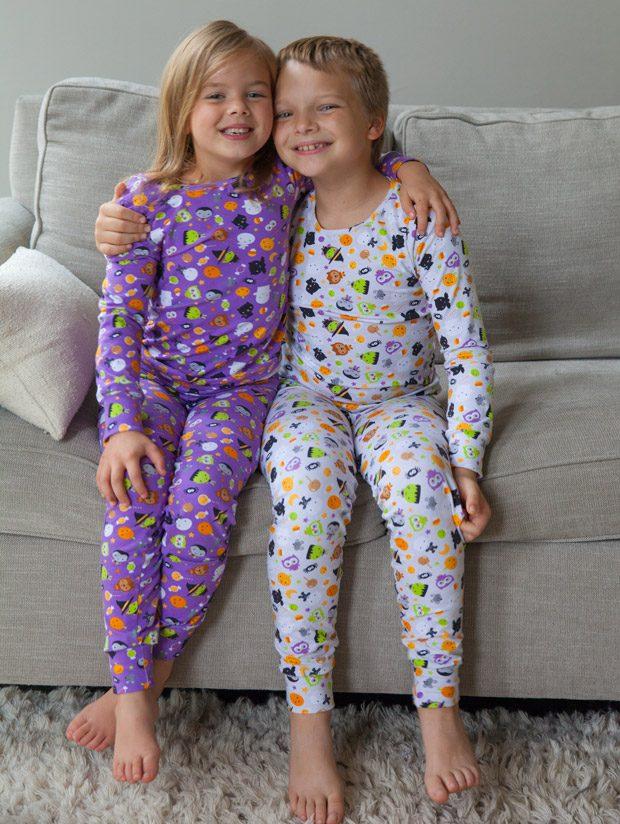 Cute and Cozy Halloween Pajamas