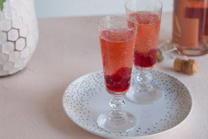 Cranberry Rosé Sparkler