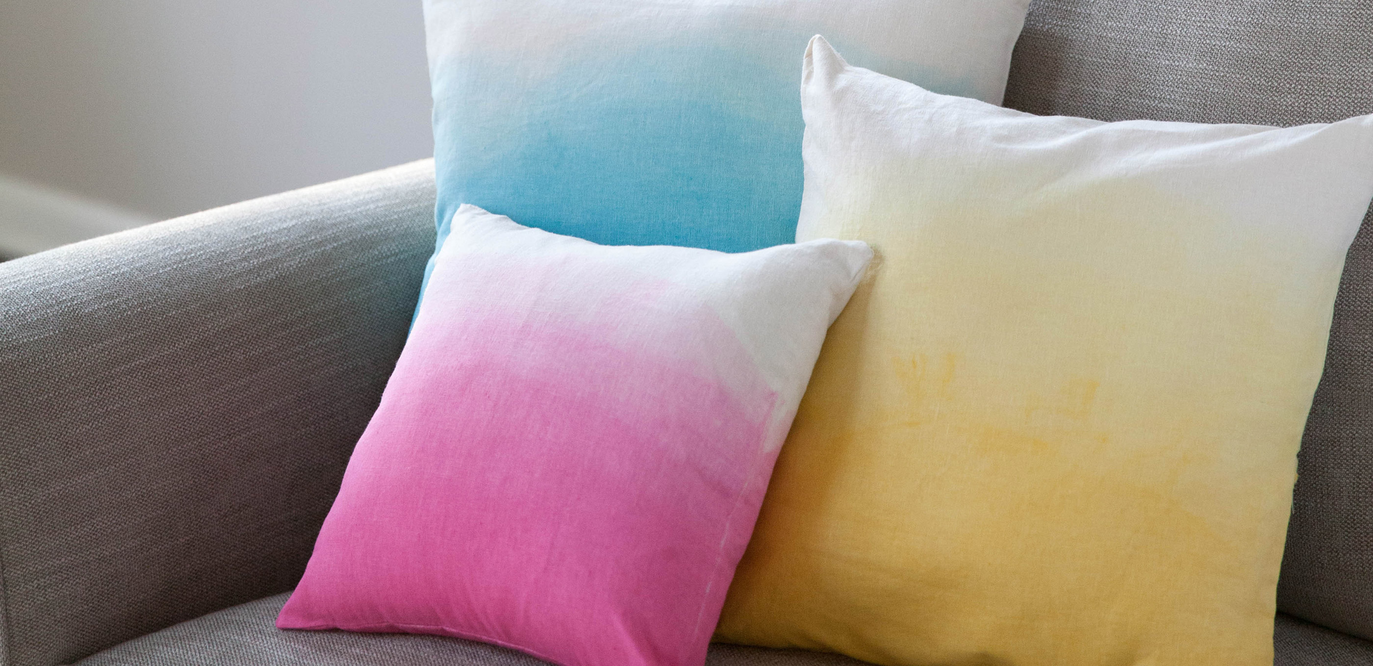 Colorful Ombre Pillows