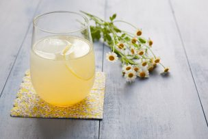 Bees and Blossoms Cocktail