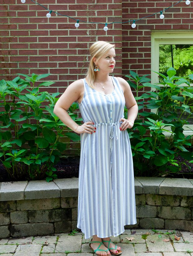 Late Summer Maxi Dress