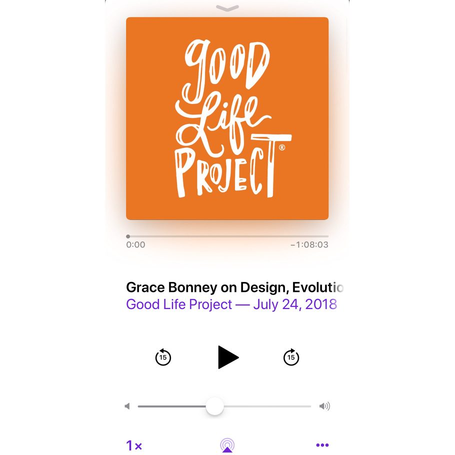 Grace Bonney on The Good Life Project