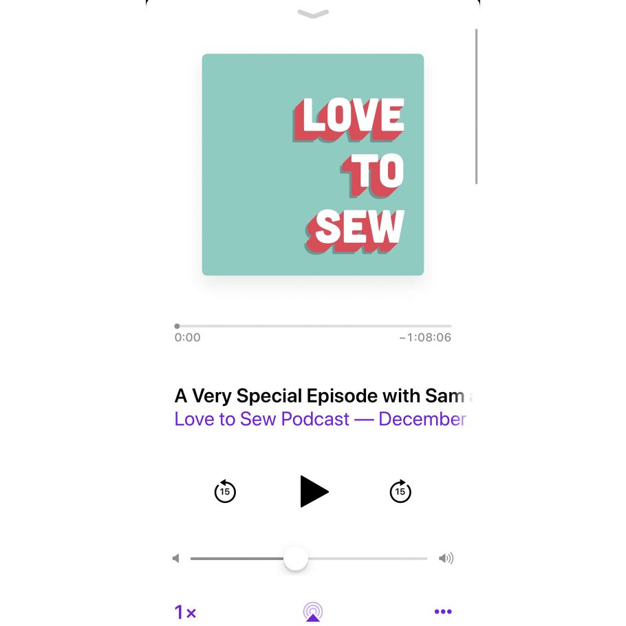 Love to Sew - A Special Episode