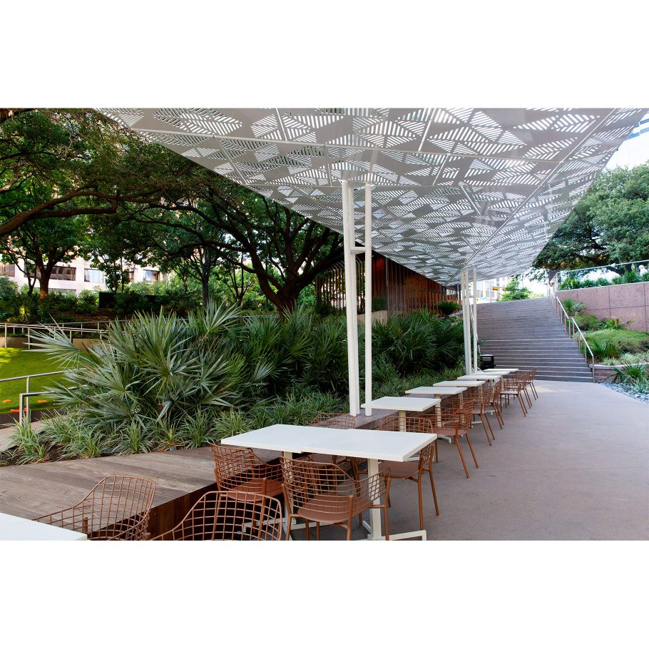 Fanciful outdoor seating