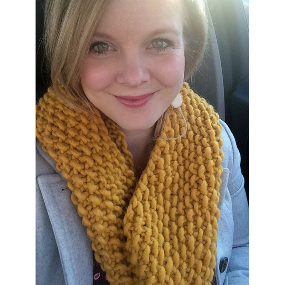Chunky Seed Stitch Cowl