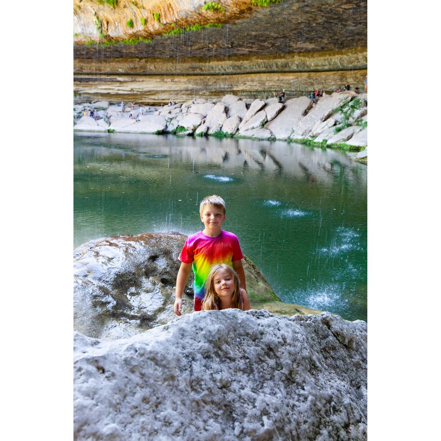 Hamilton Pool Preserve - pretty waterfall