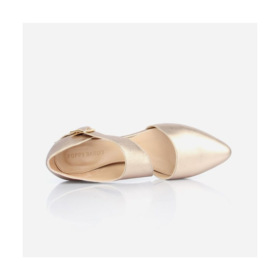 Snazzy Gold Flats