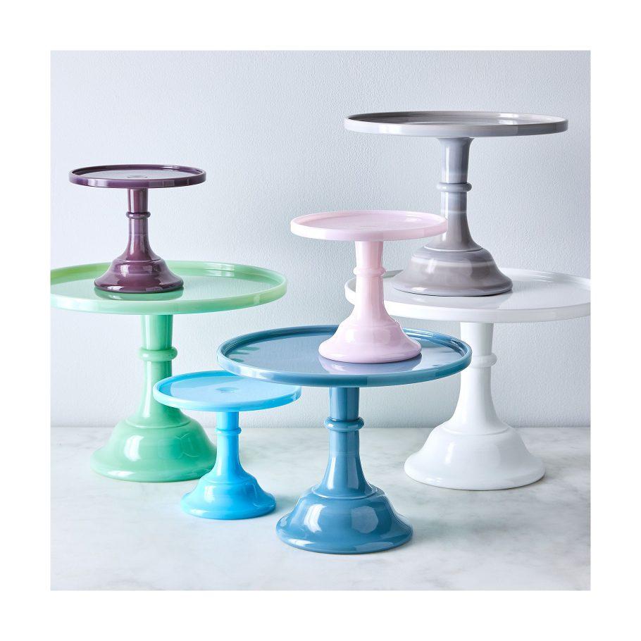 Milk Glass Cake Stands