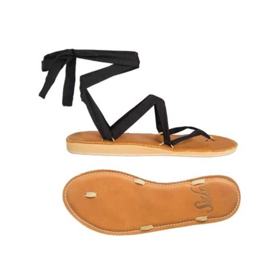 Interchangable Ribbon Sandals