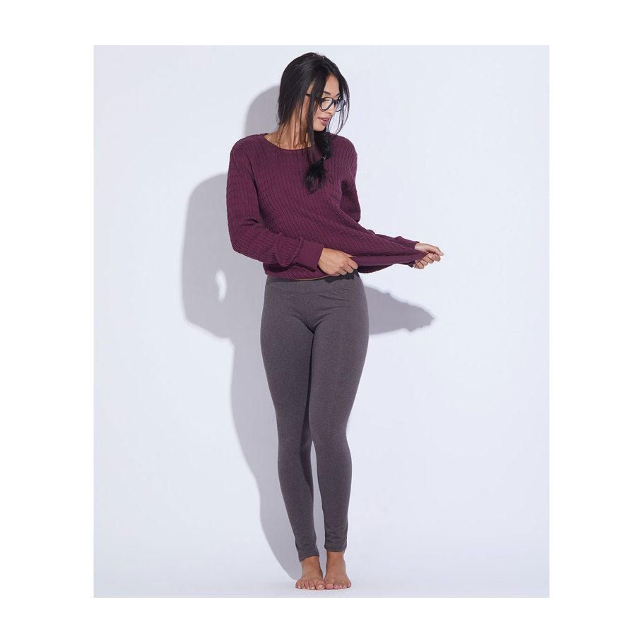 Organic Stretch Cotton Leggings