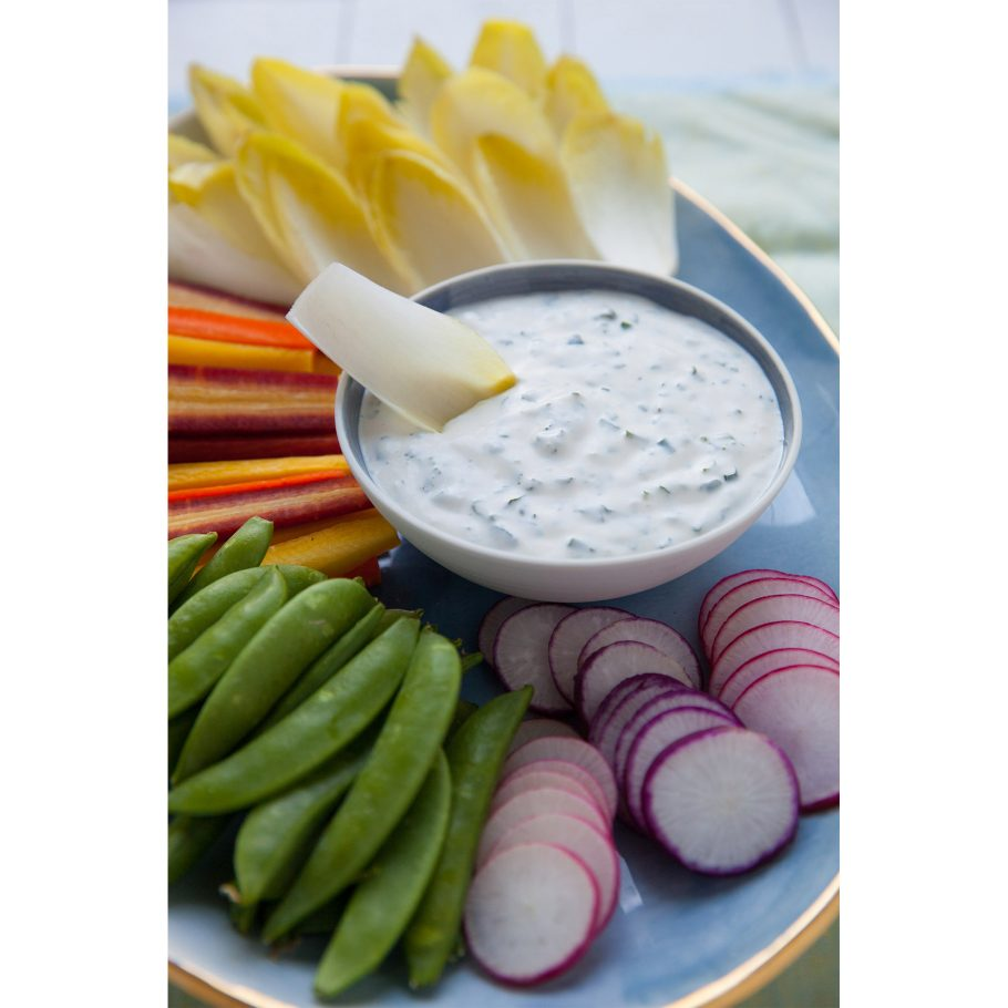 Fresh Herb and Garlic Buttermilk Dip