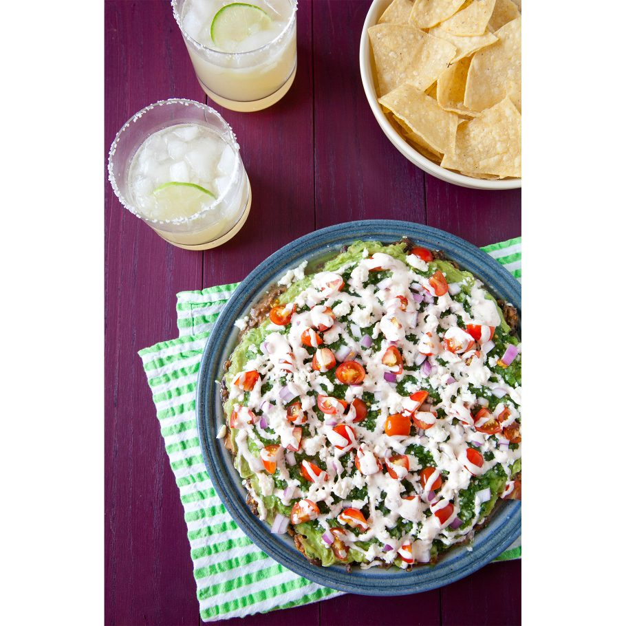 Modernized Mexican Seven Layer Dip