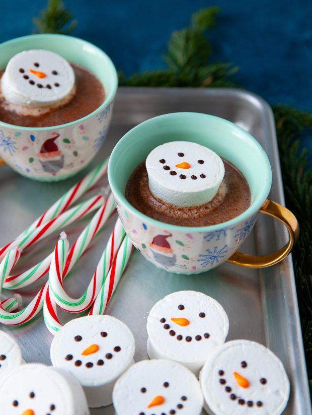 Snowman Marshmallows