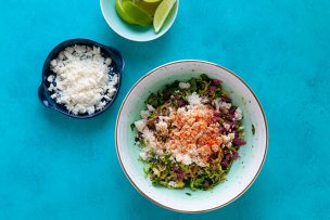 Mexican Brussels Sprouts Salad