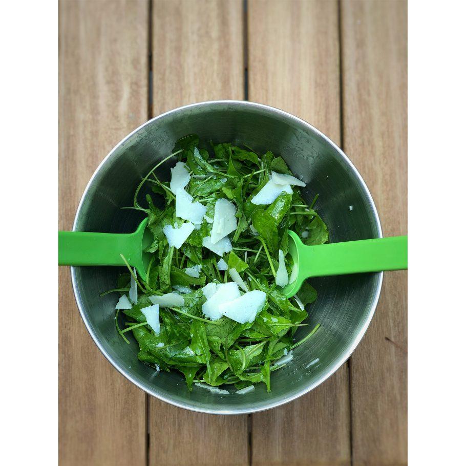 Arugula Salad with Lemon + Pecorino