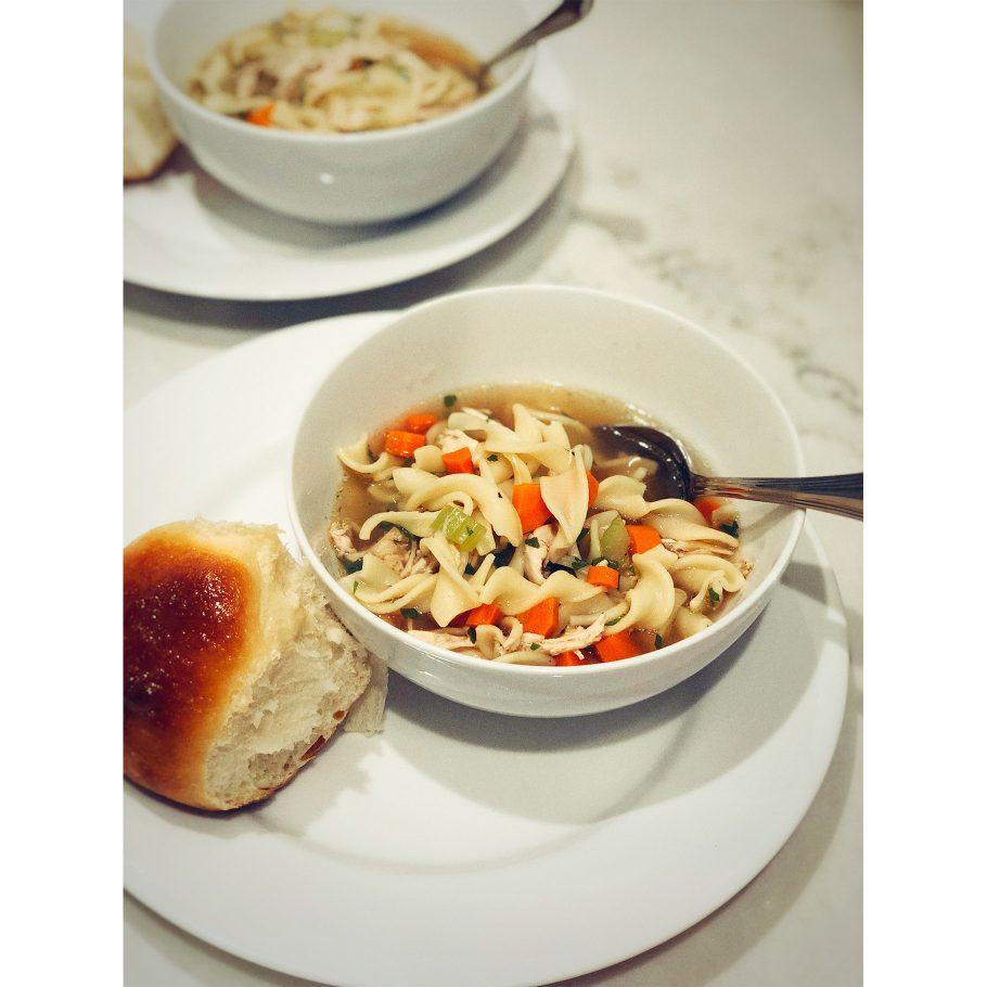 Grandma-Style Chicken Noodle Soup