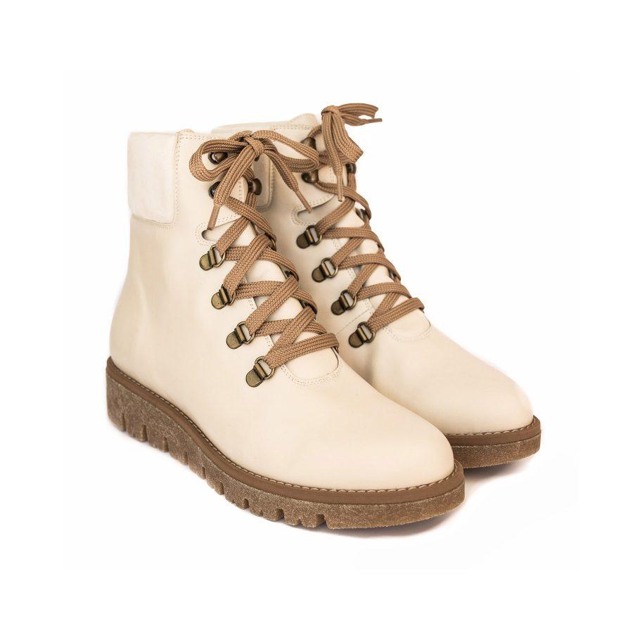 Vegan Leather Winter Boots