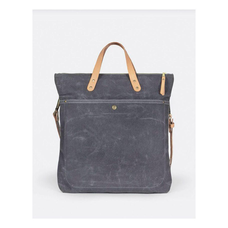Waxed Cotton Canvas Bag