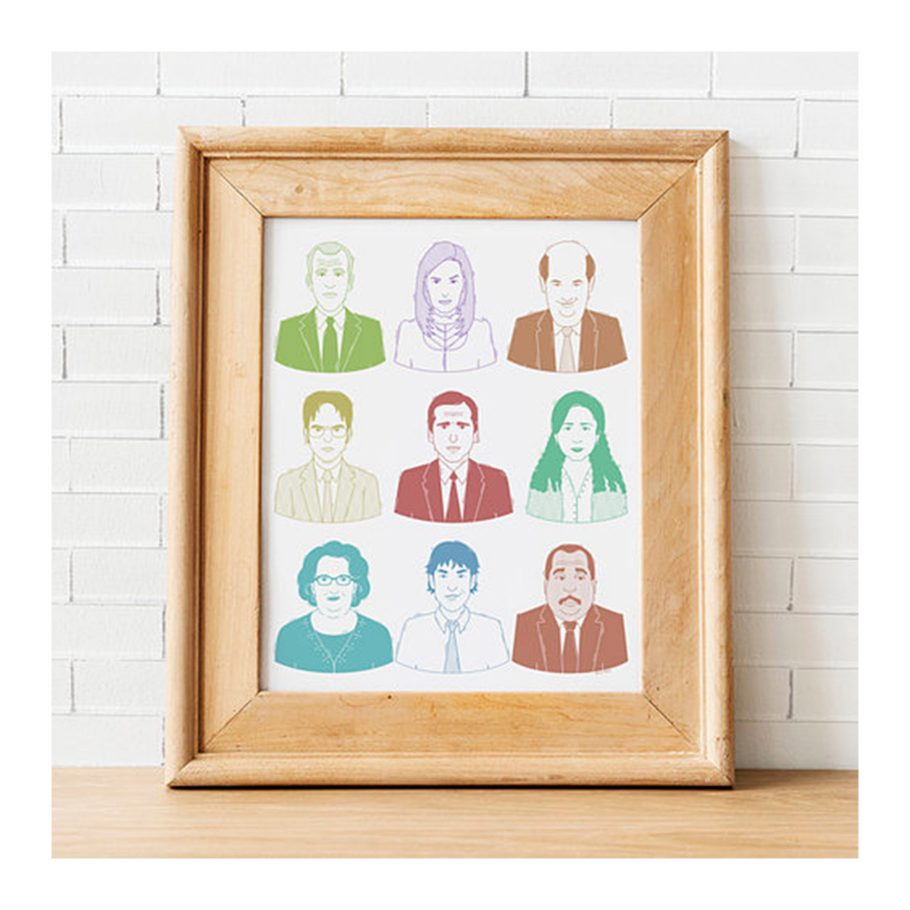 The Office Character Print