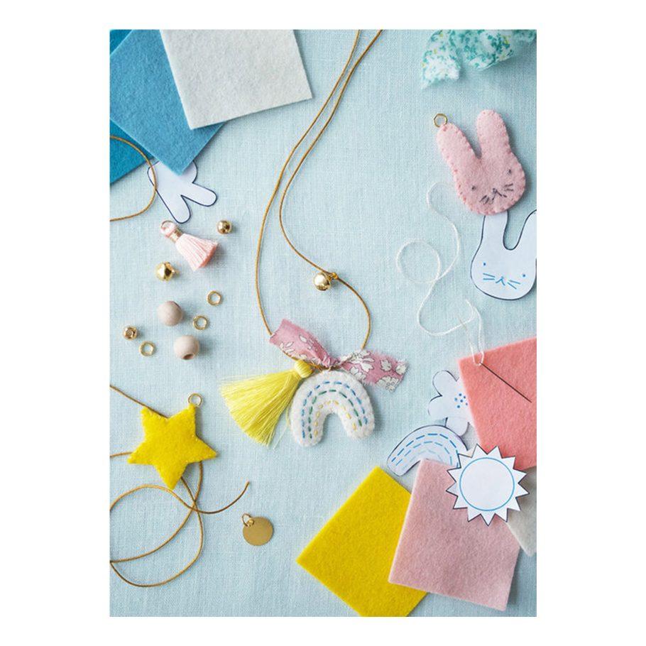 Felt Charm Necklace Kit