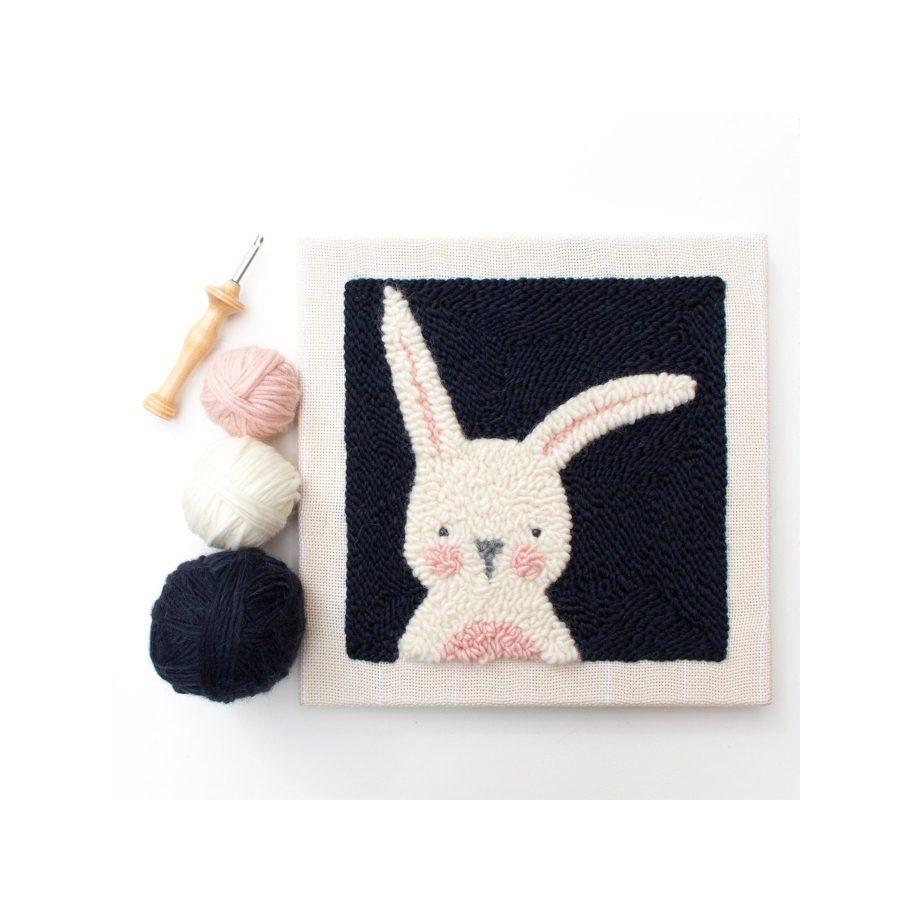 Punch Needle Bunny Kit