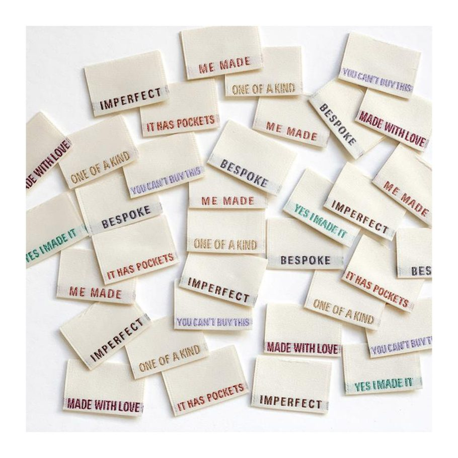 Labels for Handmade Clothes
