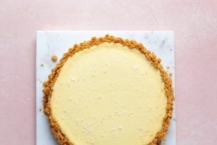 Sweet and Salty Cream Cheese Tart