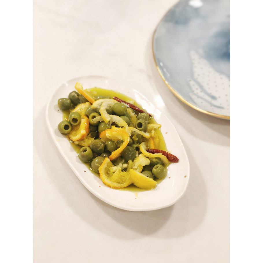 Fancy Citrusy Olives