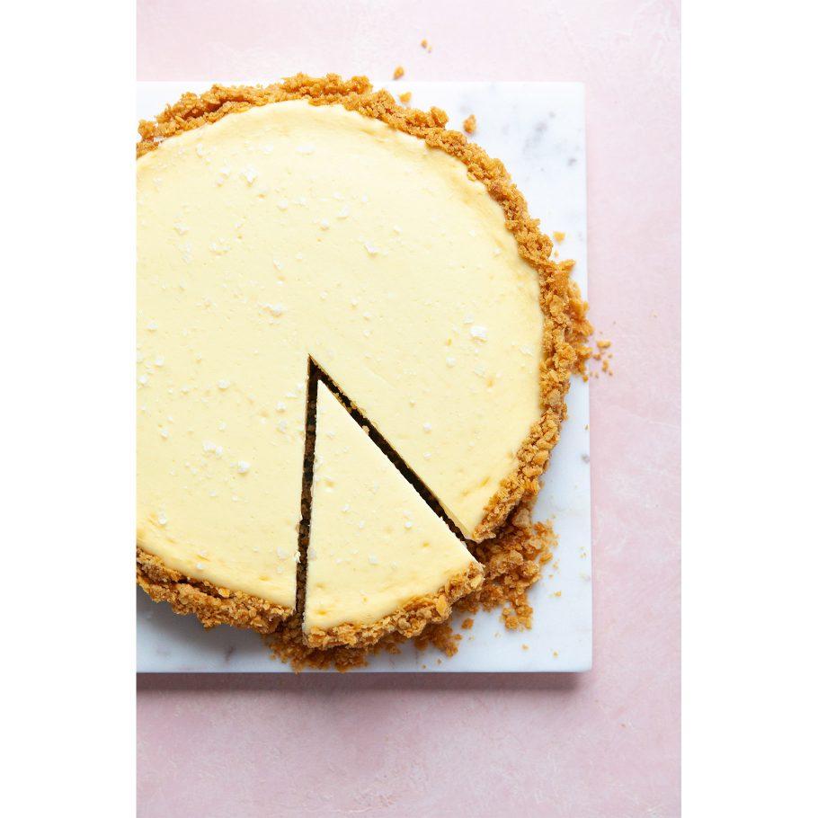 Sweet and Salty Cream Cheese Tart
