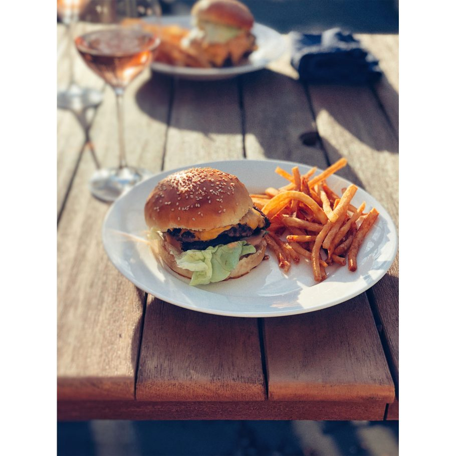 Smash Burgers, Fries, and Great Wine