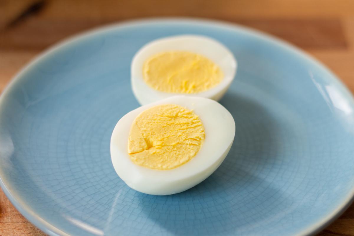 """Sous Vide """"Hardboiled"""" Eggs"""