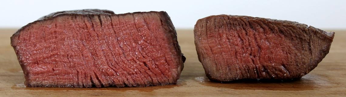 Sou vide steak
