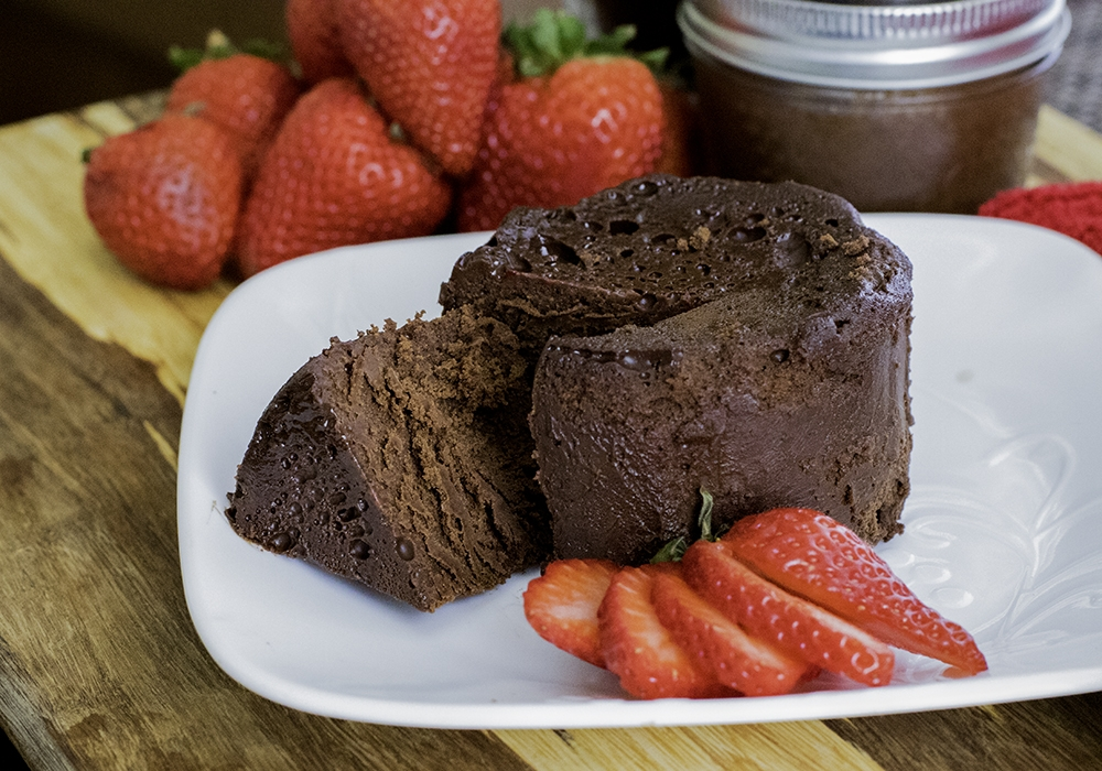 Sous Vide Flourless Chocolate Cake