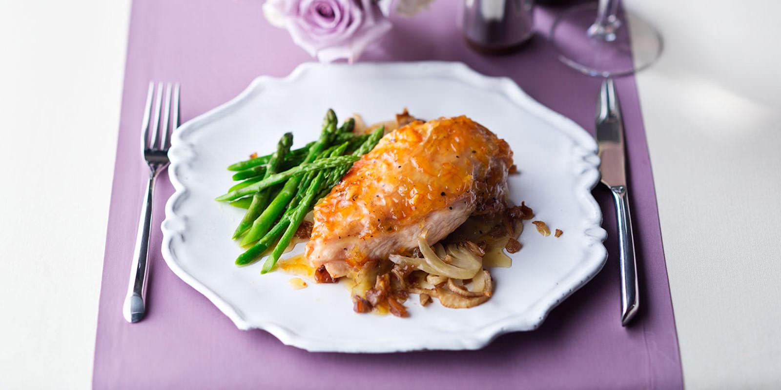 Chicken a L'Orange | The Grande Restaurant | Royal Caribbean