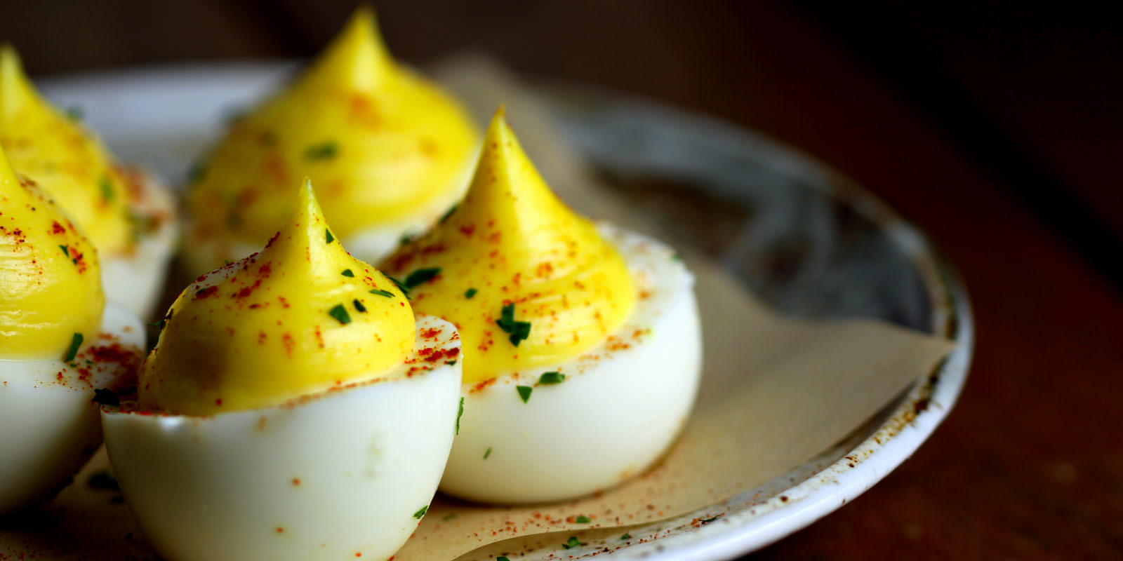 Deviled Eggs  | Michael's Genuine Pub | Royal Caribbean