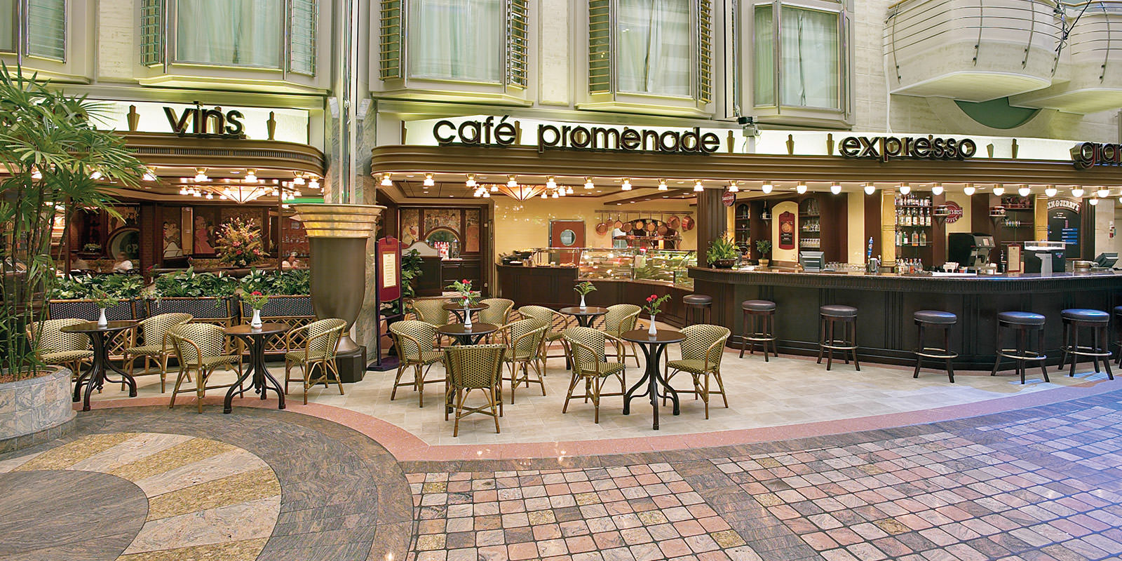 Cafe Promenade Breakfast Menu Royal Carribean