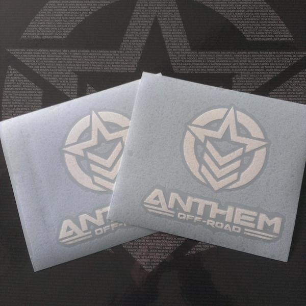 "Anthem Logo Vertical Small - 6"" H x 5.5"" W"