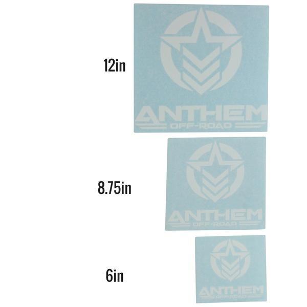 "Anthem Logo Vertical Medium - 8.75"" W x 8"" H"
