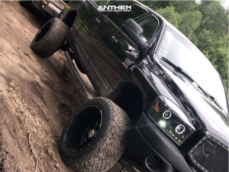 15 2007 Ram 2500 Dodge Rough Country Suspension Lift 5in Anthem Off Road Equalizer Black