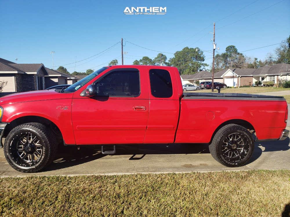 1 2001 F 150 Ford 2 Inch Level Leveling Kit Anthem Off Road Commander Black